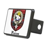 Purves Clan Crest Tartan Rectangular Hitch Cover