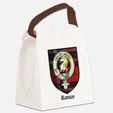 Ramsay Clan Crest Tartan Canvas Lunch Bag