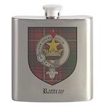 Rattray Clan Crest Tartan Flask
