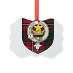 Rattray Clan Crest Tartan Picture Ornament