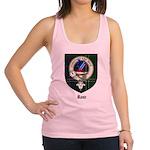 Rose Clan Crest Tartan Racerback Tank Top