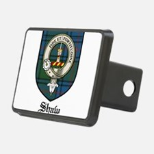 Shaw Clan Crest Tartan Hitch Cover
