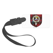 Stewart Clan Crest Tartan Luggage Tag