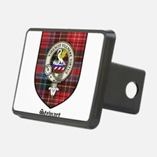 Stewart Clan Crest Tartan Hitch Cover