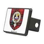 Stewart Clan Crest Tartan Rectangular Hitch Cover