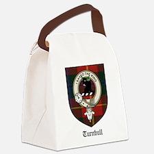 Turnbull Clan Crest Tartan Canvas Lunch Bag