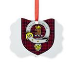 Walker Clan Crest Tartan Picture Ornament