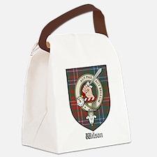 Wilson Clan Crest Tartan Canvas Lunch Bag