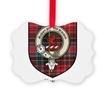 Young Clan Crest Tartan Picture Ornament