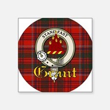 "grant-clan.jpg Square Sticker 3"" x 3"""