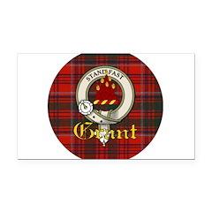 grant-clan.jpg Rectangle Car Magnet