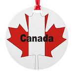 3-Canada-Leaf.jpg Round Ornament