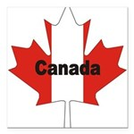3-Canada-Leaf.jpg Square Car Magnet 3