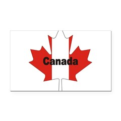 3-Canada-Leaf.jpg Rectangle Car Magnet