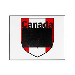 Canadian Flag Shield Picture Frame