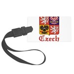 Czech Seal.jpg Large Luggage Tag