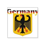 germany1.jpg Square Sticker 3