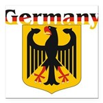 germany1.jpg Square Car Magnet 3