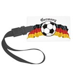 GermanySoccer.jpg Large Luggage Tag