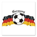 GermanySoccer.jpg Square Car Magnet 3