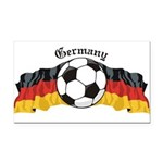 GermanySoccer.jpg Rectangle Car Magnet