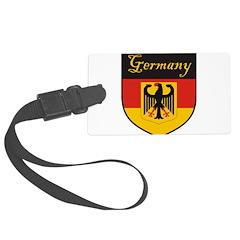 Germany Flag Crest Shield Luggage Tag
