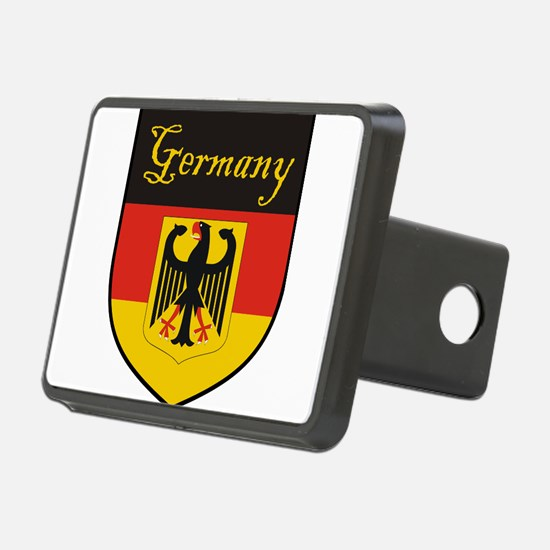 Germany Flag Crest Shield Hitch Cover
