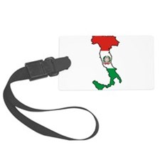 Italy-Map-Decal.jpg Luggage Tag