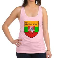 Lithuania-transp.png Racerback Tank Top