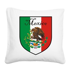 mexicoshield.png Square Canvas Pillow
