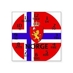 norge.jpg Square Sticker 3