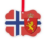 NORWAY-straight.jpg Picture Ornament