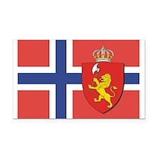 NORWAY-straight.jpg Rectangle Car Magnet