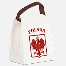 Polskaeagleshield.jpg Canvas Lunch Bag