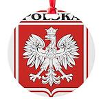 polska-dark.png Round Ornament