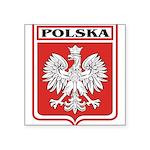 polska-dark.png Square Sticker 3
