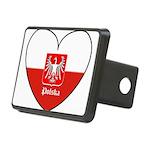 polska-heart2.jpg Rectangular Hitch Cover