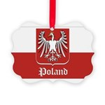 POLAND-straight.jpg Picture Ornament