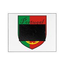 Portugal Flag Crest Shield Picture Frame