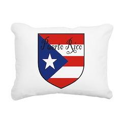 PuertoRico-Shield.jpg Rectangular Canvas Pillow