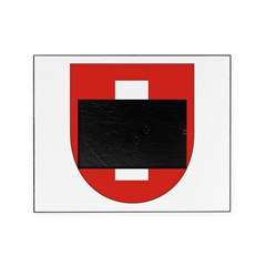 Swiss Flag Crest Shield Picture Frame