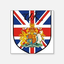 "uk-transp.png Square Sticker 3"" x 3"""