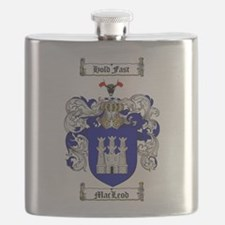 MacLeod Coat of Arms Flask