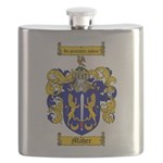 Maher Family Crest Flask