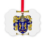 Maher Family Crest Picture Ornament