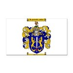 Maher Family Crest Rectangle Car Magnet