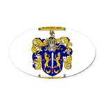 Maher Family Crest Oval Car Magnet