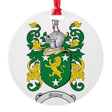 Malone Family Crest Ornament