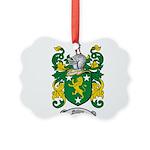Malone Family Crest Picture Ornament