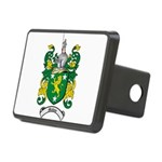 Malone Family Crest Rectangular Hitch Cover